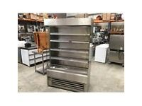 Frost Tech stainless steel dairy/drinks merchandiser for shops/convenience/grocers