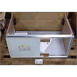 Laufen undercounter cabinet with sliding door. Brand new in box 77cm