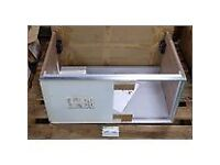 Laufen undercounter cabinet with sliding door. Brand new in box 77cm