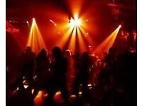 Dj disco hire £140 no last minute call off
