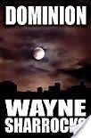 Signed Paperback Gothic Thriller Novels by Wayne Sharrocks