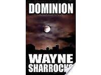 Paperback Gothic Thriller Novels (signed copies) by Wayne Sharrocks