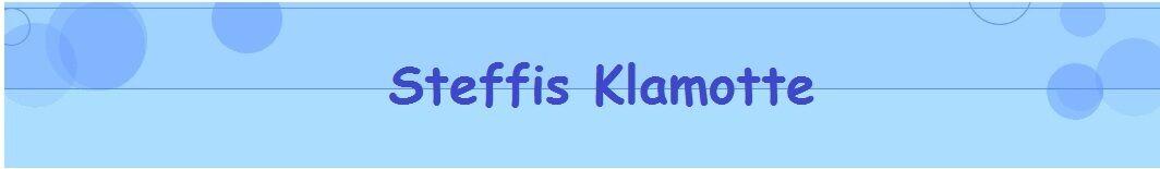 Steffis-Klamotte