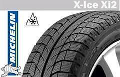 "Michelin XIce 17"" Winter tires w/ rims"