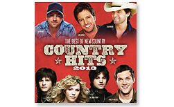 VARIOUS ARTISTS**2013: COUNTRY HITS (BEST OF NEW COUNTRY)**CD