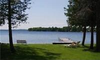 Waterfront cottage for rent on Sturgeon - Bobcaygeon - Kawarthas