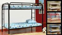 Twin Over Twin Metal Bunk Bed Starting At $499 With Mattresses