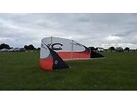 cabrinha kite 11.5m + labrat 150 twintip for sale £250