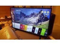 "50"" 4K Smart TV only 6 months old!"