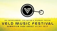VELD 2-Day ticket for sale $199