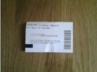Legoland ticket valid until 7.10.2016