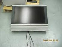 26 inch sharp lcd hd tv, no stand or remote, just £20