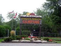 Seasonal lot rental at campground - Niagara Falls