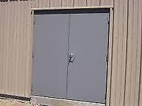 Double Commercial Man Door New