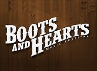 2 BOOTS AND HEARTS TICKETS + 1 SHOWER PASS