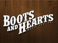 Boots and hearts weekend passes and camping