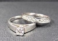 Gorgeous engagement ring/wedding band set! (Canadian diamonds!)