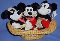 Disney Classic Comics Set ~ Disney Mini Bean Bag Plush (MBBP)