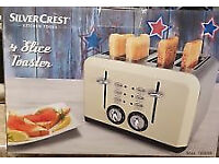 New 4 slice toaster, 'American Diner' style