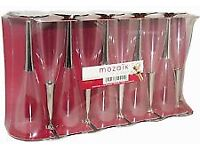 Quality Plastic Champagne Flutes (new in box)