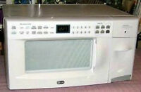 LG, White Microwave Oven/ Toaster Combo