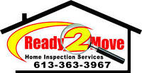 Ready2move Home Inspections $299.00 Tax Included