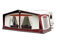 Full size Caravan awning with extras.