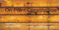 On Point Construction