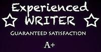 A+ Grade Essays/Editing~University*High School*International*