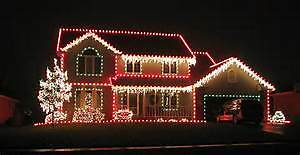 No ladder or time to install your Christmas lights? Edmonton Edmonton Area image 1