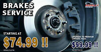 BRAKE PADS REPLACEMENT at Arvalet open 7am-11.30pm