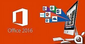 MS. Office 2016 (with product Key, no expiration)
