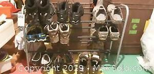Mens Shoes and Rack B