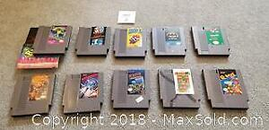 Original Nintendo NES games Lot 2