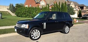 2008 Land Rover Range Rover Supercharged HSE SUV, Crossover