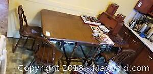 Vintage Table and Chairs B