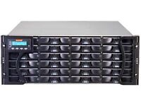 Infortrend Eon Stor A24F-R2224-1 24-Bay 4U 2GB FC-SATA RAID Array + 48TB Hard Drives