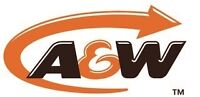 A&W is looking for Full time and supervisory staff