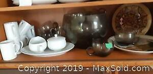 Espresso Cups and Punch Bowl Set and More B