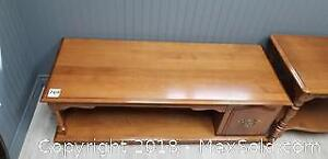 Wooden Coffee Table B