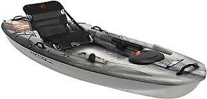 Pelican Catch 100 Kayak Brand New Used Only Twice