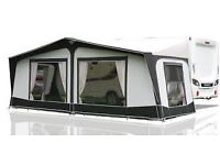 Bradcot Aspire 4 (1020-1125) Awning in attractive Charcoal/Light Grey