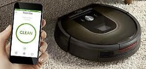 i-Roomba® 980 Robot Vacuum , used once to test open to offers