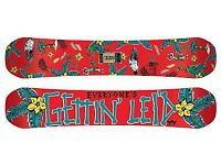 Rome Snowboards butter knife 155cm 2014
