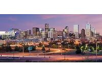 1 return flight ticket London - Denver 14.OCT - 17.OCT
