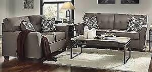 Ashley Tibbee Sofa and Loveseat Set