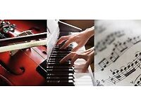 Music Lessons: Violin / Piano / Guitar / Music Theory