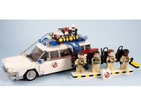 Lego ideas ghostbusters ecto-1 - retired.