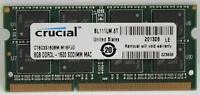 Crucial 8GB DDR3 1600MHz Laptop Memory for Mac et Laptop Brand N
