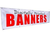 PVC banners any size with eyelets